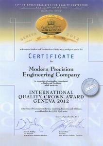 International Quality Crown