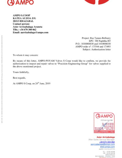 AMPO AGENCY LETTER-1